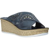 Παπούτσια Γυναίκα Τσόκαρα Grunland CI1771 Μπλε