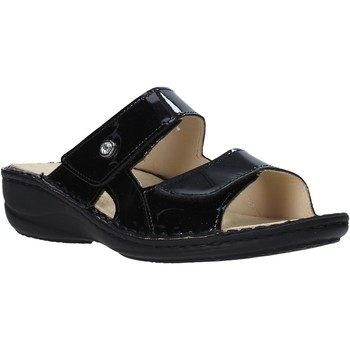 Παπούτσια Γυναίκα Τσόκαρα Grunland CE0446 Μαύρος