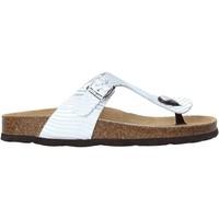 Παπούτσια Γυναίκα Σαγιονάρες Grunland CB2469 Ασήμι
