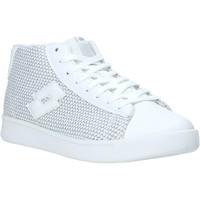 Παπούτσια Γυναίκα Ψηλά Sneakers Lotto L57989 λευκό