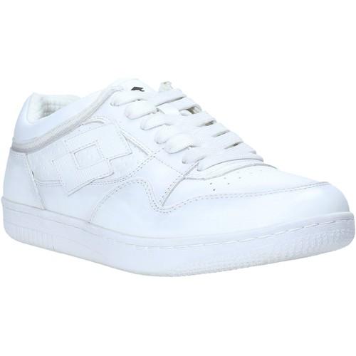 Παπούτσια Άνδρας Χαμηλά Sneakers Lotto L55815 λευκό