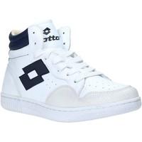 Παπούτσια Άνδρας Ψηλά Sneakers Lotto L56883 λευκό