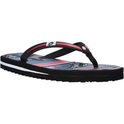 Παπούτσια Άνδρας Σαγιονάρες Lotto L58324 το κόκκινο