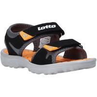 Παπούτσια Παιδί Σανδάλια / Πέδιλα Lotto L55098 Μαύρος
