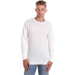 Υφασμάτινα Άνδρας Μπλουζάκια με μακριά μανίκια Sseinse ME1504SS λευκό