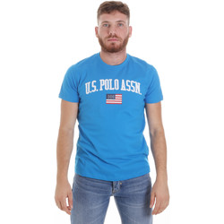 Υφασμάτινα Άνδρας T-shirt με κοντά μανίκια U.S Polo Assn. 57117 49351 Μπλε
