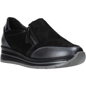 Παπούτσια Γυναίκα Slip on Grunland SC4979 Μαύρος