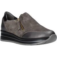 Παπούτσια Γυναίκα Slip on Grunland SC4979 καφέ