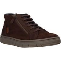 Παπούτσια Άνδρας Ψηλά Sneakers Grunland PO1717 καφέ