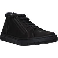 Παπούτσια Άνδρας Ψηλά Sneakers Grunland PO1717 Μαύρος