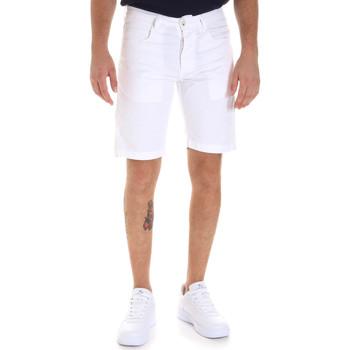 Υφασμάτινα Άνδρας Σόρτς / Βερμούδες Sseinse PB607SS λευκό