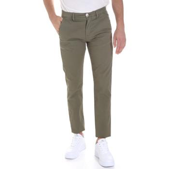 Υφασμάτινα Άνδρας Παντελόνια Chino/Carrot Sseinse PSE558SS Πράσινος