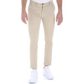 Υφασμάτινα Άνδρας Παντελόνια Chino/Carrot Les Copains 9U3320 Μπεζ
