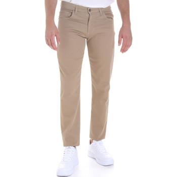 Υφασμάτινα Άνδρας Παντελόνια Πεντάτσεπα Les Copains 9U3022 Μπεζ