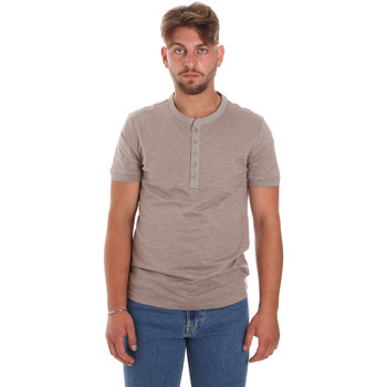 Υφασμάτινα Άνδρας T-shirt με κοντά μανίκια Antony Morato MMKS01725 FA100139 καφέ