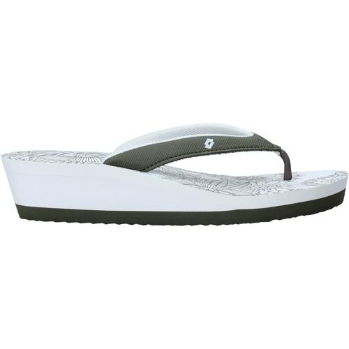 Παπούτσια Γυναίκα Σαγιονάρες Lotto L58326 λευκό
