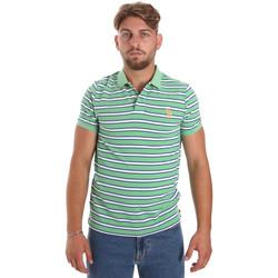 Υφασμάτινα Άνδρας Πόλο με κοντά μανίκια  U.S Polo Assn. 56336 52802 Πράσινος