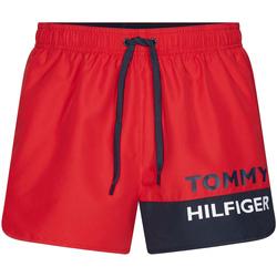 Υφασμάτινα Άνδρας Μαγιώ / shorts για την παραλία Tommy Hilfiger UM0UM01683 το κόκκινο