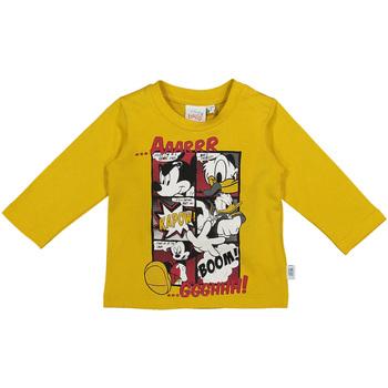 Υφασμάτινα Παιδί Μπλουζάκια με μακριά μανίκια Melby 20C2040DN Κίτρινος