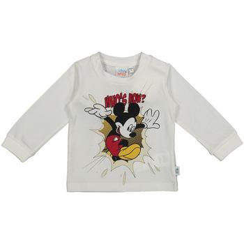 Υφασμάτινα Παιδί Μπλουζάκια με μακριά μανίκια Melby 20C2050DN λευκό