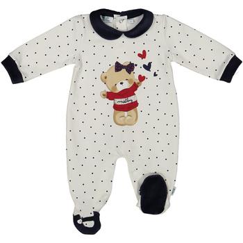 Υφασμάτινα Παιδί Ολόσωμες φόρμες / σαλοπέτες Melby 20N0681 λευκό