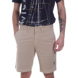 Υφασμάτινα Άνδρας Σόρτς / Βερμούδες U.S Polo Assn. 57319 49492 Μπεζ