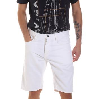 Υφασμάτινα Άνδρας Σόρτς / Βερμούδες Antony Morato MMSH00152 FA900123 λευκό