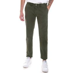 Υφασμάτινα Άνδρας Παντελόνια Chino/Carrot Gaudi 821FU25013 Πράσινος