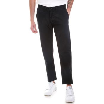 Υφασμάτινα Άνδρας Παντελόνια Chino/Carrot Gaudi 821BU25007 Μαύρος