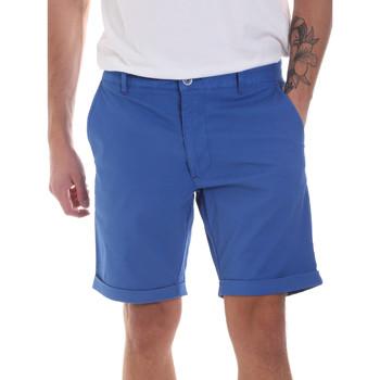 Υφασμάτινα Άνδρας Σόρτς / Βερμούδες Gaudi 811FU25023 Μπλε