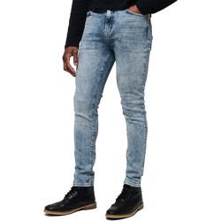 Υφασμάτινα Άνδρας Jeans Superdry M70015ET Μπλε
