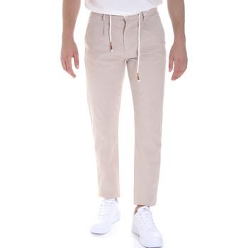 Υφασμάτινα Άνδρας Παντελόνια Chino/Carrot Sseinse PSE612SS Μπεζ