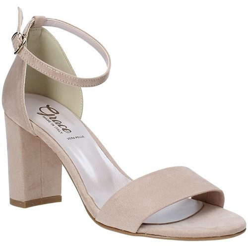 Παπούτσια Γυναίκα Σανδάλια / Πέδιλα Grace Shoes 492001 Μπεζ