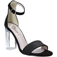Παπούτσια Γυναίκα Σανδάλια / Πέδιλα Grace Shoes 018TR003 Μαύρος