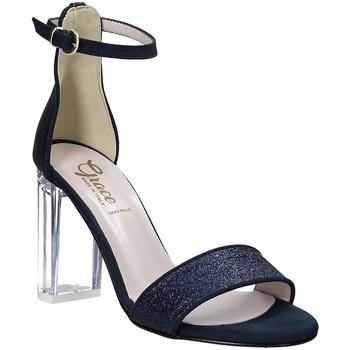 Παπούτσια Γυναίκα Σανδάλια / Πέδιλα Grace Shoes 018TR003 Μπλε