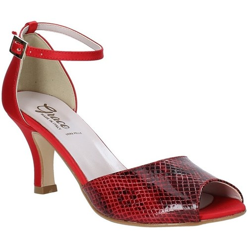 Παπούτσια Γυναίκα Σανδάλια / Πέδιλα Grace Shoes 928008 το κόκκινο
