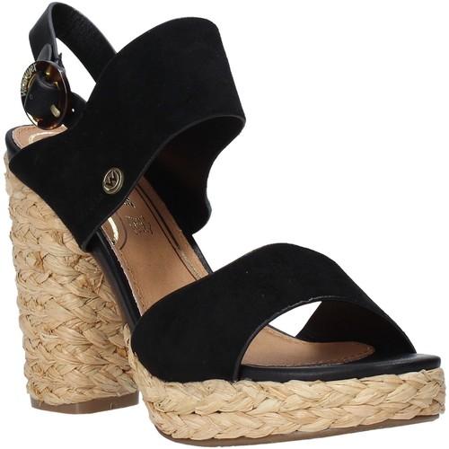 Παπούτσια Γυναίκα Σανδάλια / Πέδιλα Wrangler WL01500A Μαύρος