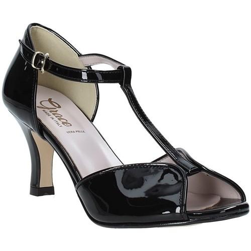 Παπούτσια Γυναίκα Σανδάλια / Πέδιλα Grace Shoes 928010 Μαύρος
