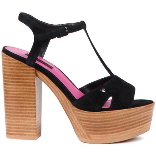 Παπούτσια Γυναίκα Σανδάλια / Πέδιλα Fornarina PE17KY1012S000 Μαύρος