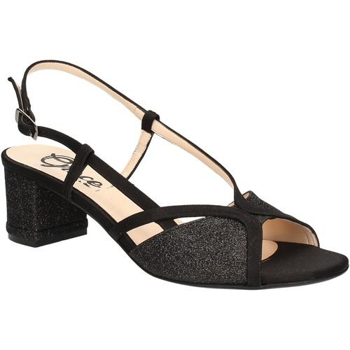 Παπούτσια Γυναίκα Σανδάλια / Πέδιλα Grace Shoes 2070 Μαύρος