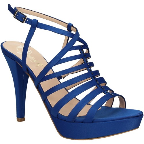 Παπούτσια Γυναίκα Σανδάλια / Πέδιλα Grace Shoes 2078 Μπλε