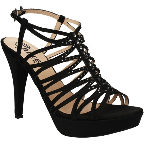 Παπούτσια Γυναίκα Σανδάλια / Πέδιλα Grace Shoes 3023 Μαύρος