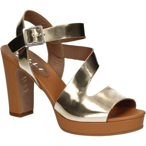 Παπούτσια Γυναίκα Σανδάλια / Πέδιλα Mally 5180 Χρυσός