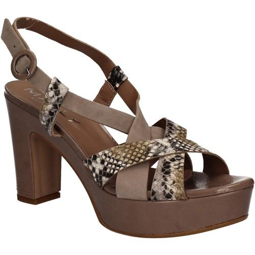 Παπούτσια Γυναίκα Σανδάλια / Πέδιλα Mally 5832 καφέ