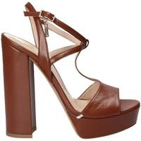 Παπούτσια Γυναίκα Σανδάλια / Πέδιλα Liu Jo S17023P0062 καφέ