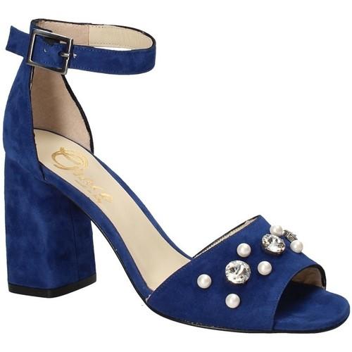 Παπούτσια Γυναίκα Σανδάλια / Πέδιλα Grace Shoes 536 Μπλε