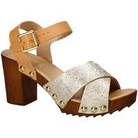 Παπούτσια Γυναίκα Σανδάλια / Πέδιλα Keys 5864 Κίτρινος