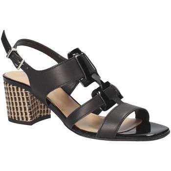 Παπούτσια Γυναίκα Σανδάλια / Πέδιλα Keys 5711 Μαύρος