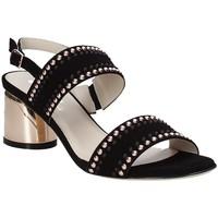 Παπούτσια Γυναίκα Σανδάλια / Πέδιλα Melluso S553M Μαύρος