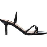 Παπούτσια Γυναίκα Σανδάλια / Πέδιλα Steve Madden SMSLOFT-BLKSNK Μαύρος